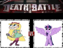 Request #33 Star Butterfly vs Twilight Sparkle by LukeAlanBundesen