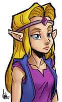 CD-i Zelda by TheArtrix