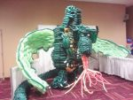 2012 Gen Con Dragon Balloon Structure by ElectricBlue91