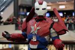 Iron Man! With More AMERICA! by geekypandaphotobox