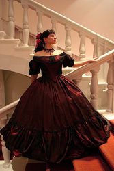 1860s style Ballgown by Sundry-Art