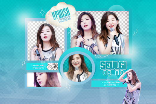 Seulgi PNG PACK #3/RED VELVET by UpWishColorssx