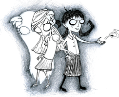 Don't Starve: Wendy and Willow by kernal-flob