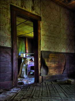 Ghost in the Kitchen by wb-skinner