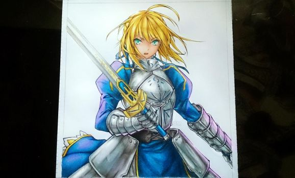 Arturia Pendragon Saber from Fate by seiji0