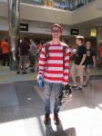 Waldo Cosplay by videogameking613