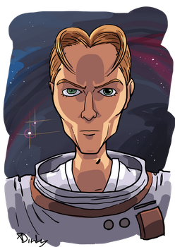 Rest in Space, Star Man by XDinky
