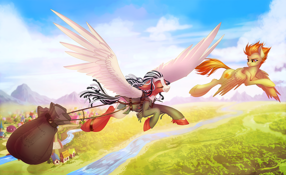Temporal Postman by LimreiArt