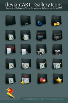 DeviantART - Gallery Icons by AzizNatour