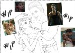 Wip True Blood Disney version - commission by CristianoReina