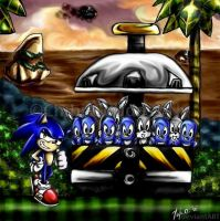 Sonic's First Rescue by Chibi-Goddess-Ny