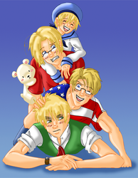 England Family by Brit-Brit