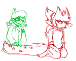 briefly about whats happening in EddsworldAU ASK by MadaMaste