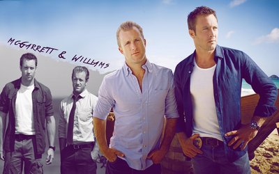 McGarrett and Williams by JamieRose89