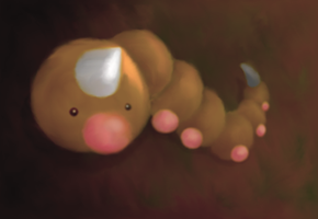 Weedle Painting