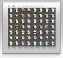 CrystalClear Document Icons by marsmuse
