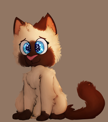Mocha the kitteh by MythicalHalftail