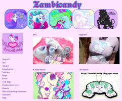 New items and layout by zambicandy