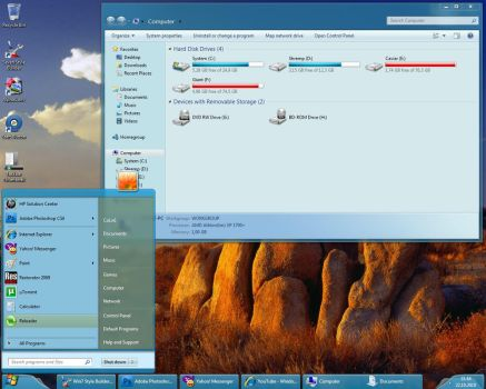 Windows Copenhagen for Windows 7 by alkhan