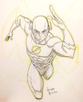 Flash sketch commission by LucianoVecchio