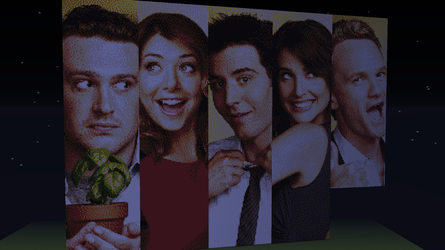How I Met Your Mother Cast (minecraft) by peter-pun
