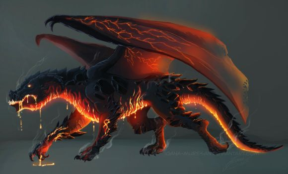 Dragon-commission by Ioana-Muresan