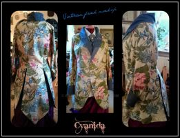 Neo-Victorian frock mock-up by Cyanida