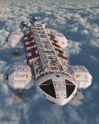Eagle Transporter - Above Clou by BeccoUK