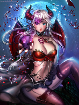 :: Lilith the Succubus :: by Sangrde