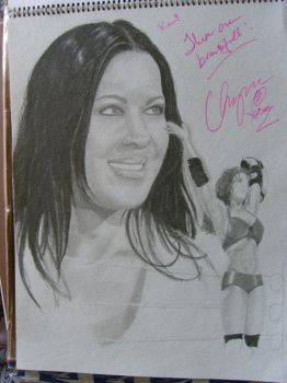 Autographed Chyna 2 WIP by remizart