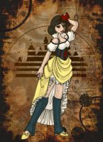 Steampunk Snow White by LostSoul-Mumei