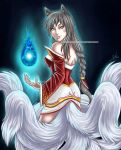 9-tailed Ahri by Silent-Neutral