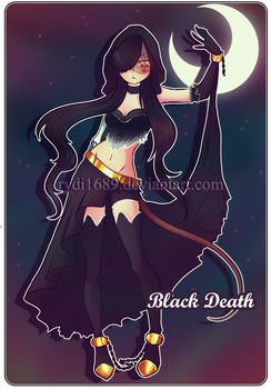 Adoptable: Closed! {Black Death} by rydi1689