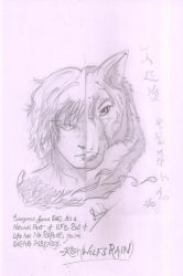 Wolf's Rain Kiba Referenced from 'aldurvankar' by Remus-and-Romulus