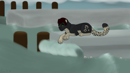 Redraw by The Water by Roi-Chaton-Noir