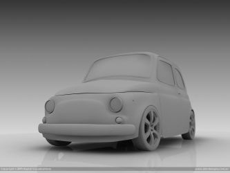 Fiat 600 BW by diegoreales