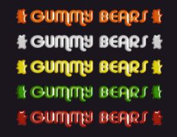 Gummy Bears by Outraejss