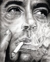 Robert Downey Jr. by Anthony-Woods