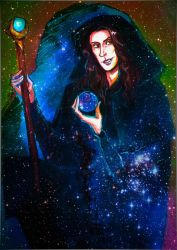 Raistlin - Master of past and present by MeganeSaikoCaptains