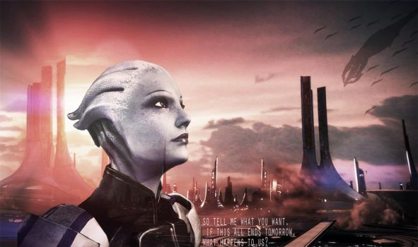 Liara +Thessia by lucylucycoles