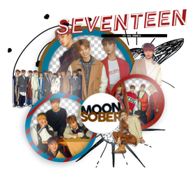 SEVENTEEN (CECI)-PNGPACK#4 by MoonSober