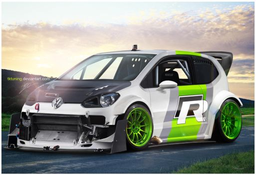 VW supeR UP by TKtuning