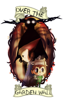 Over the Garden Wall by LilRedGummie