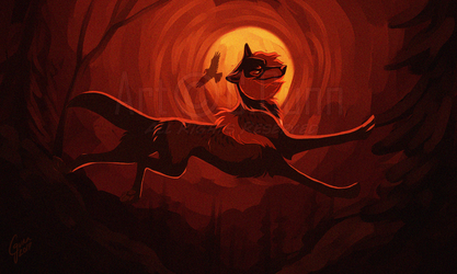 Of A Demon in my View by InstantCoyote