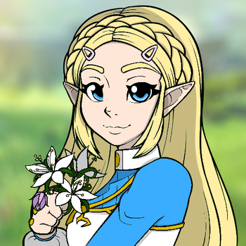 Princess Zelda (Breath of the Wild) by LeMystere3