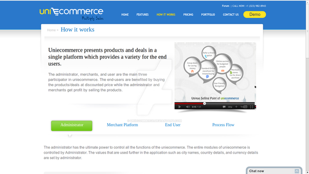 Uniecommerce demo by uniecommerce