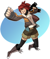 Stop, Enna Time by CubeWatermelon