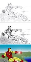 Iron Man: Stages by antacidimages