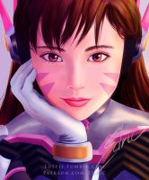 Dva Dreaming by luffie