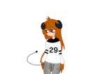 Drew myself irl but with horns n tail by NiEinCeBe
